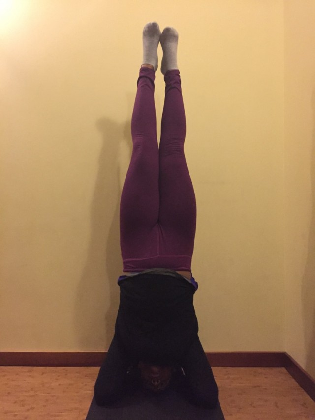Headstand: How Consistent Practice Makes Progress